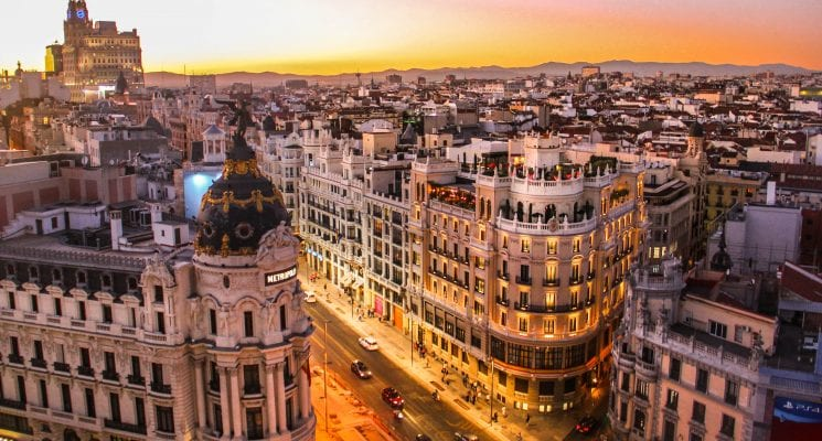 things to do in madrid, spain - calle gran via