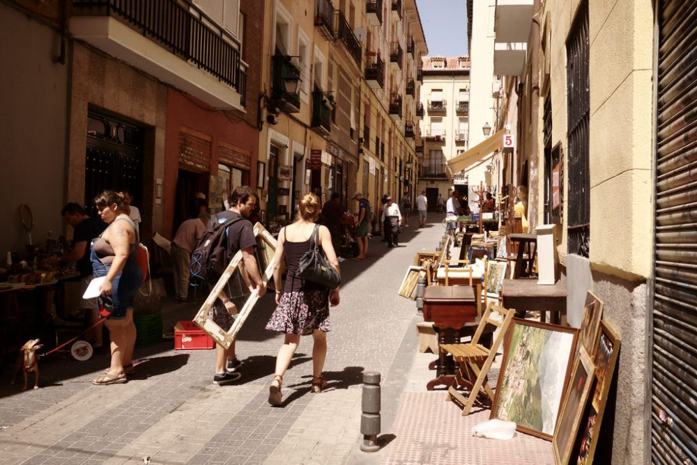 things to do in madrid, el rastro flea market