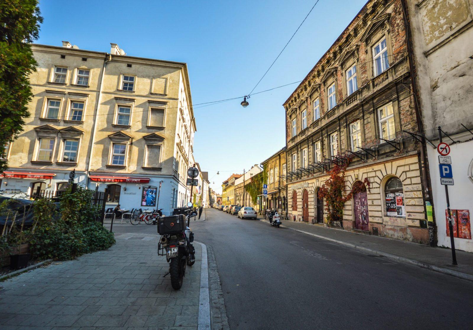 Kazimierz Jewish Quarter in Krakow