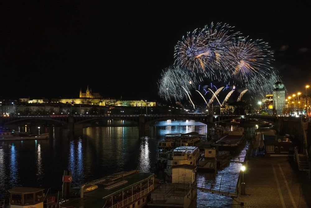 New Year's Eve in Prague