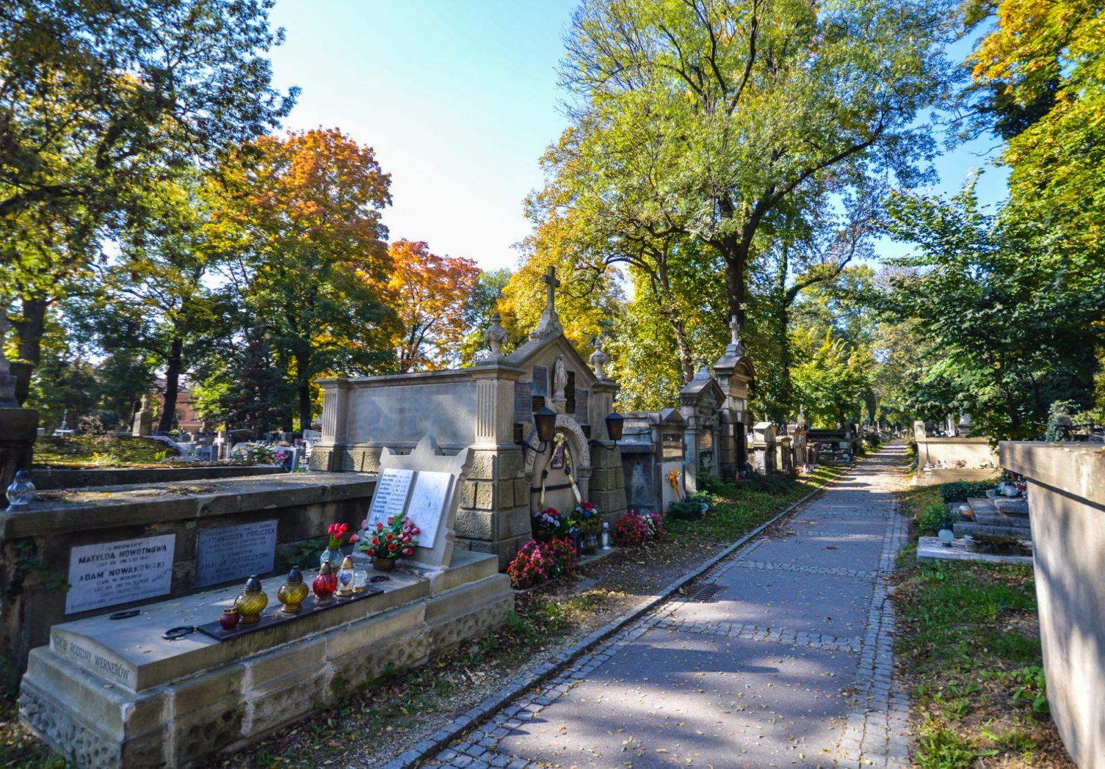 Rakowicki Cemetery in Krakow