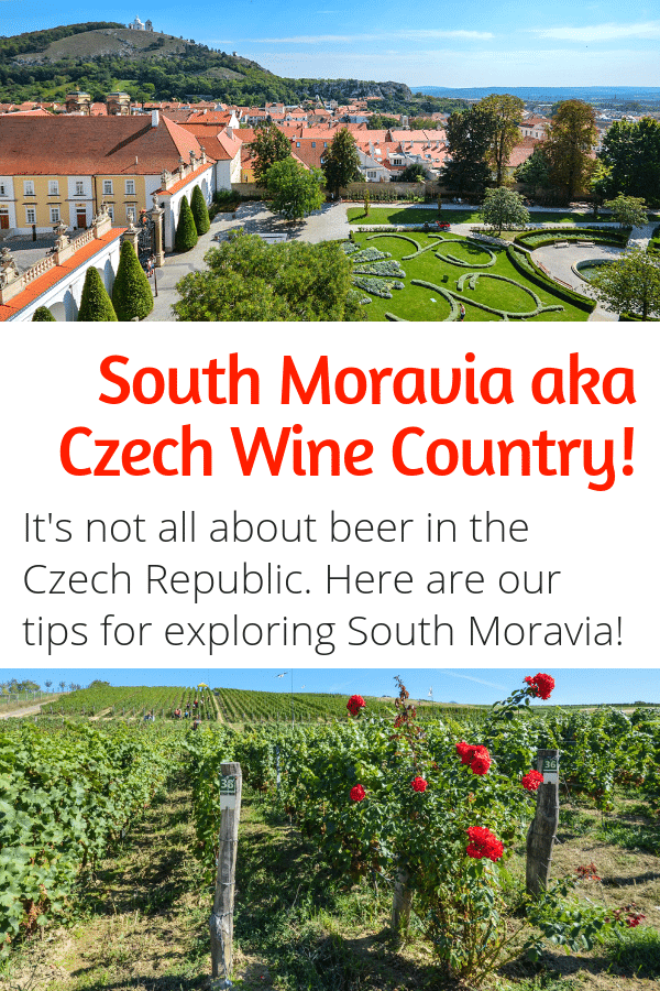 South Moravia aka Czech Wine Country - The Czech Republic isn't all about beer! This country has amazing wine. Here's your guide to exploring the wine region of South Moravia! #wine #europe #czechrepublic #southmoravia #moravia