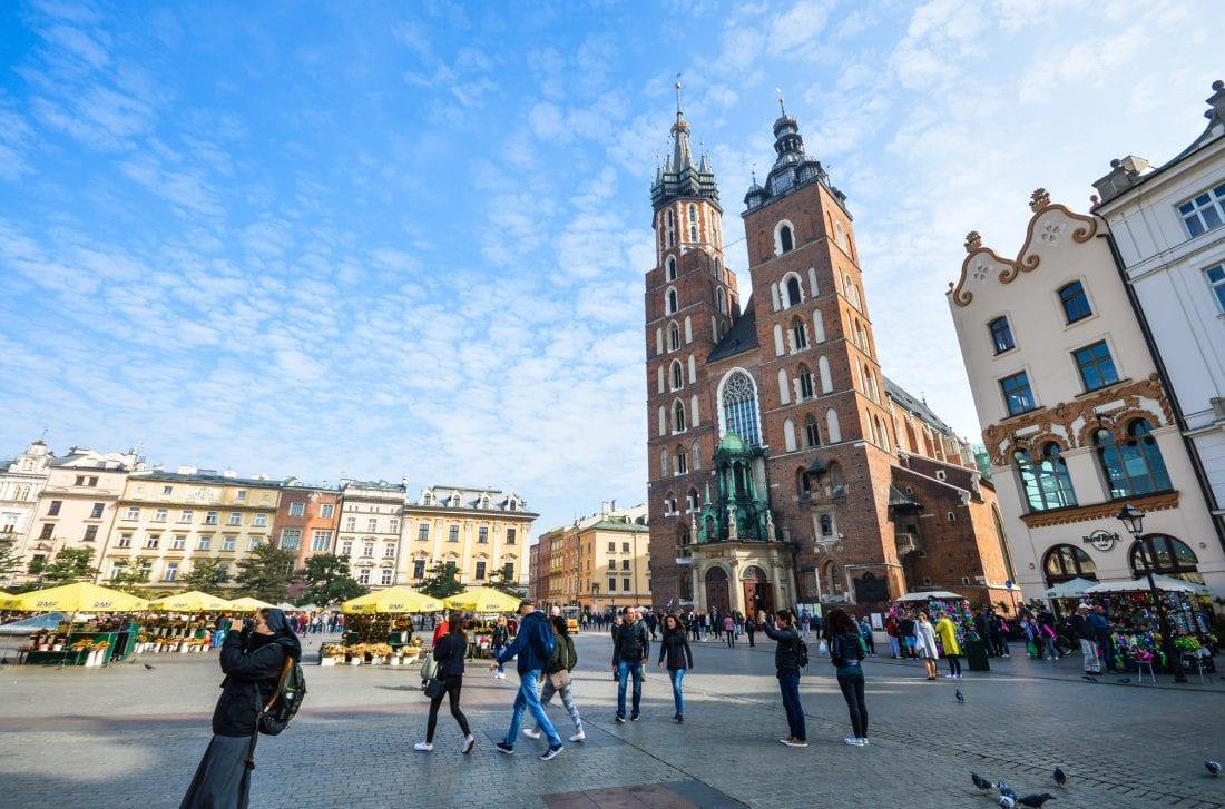 St. Mary's Basillica in Krakow