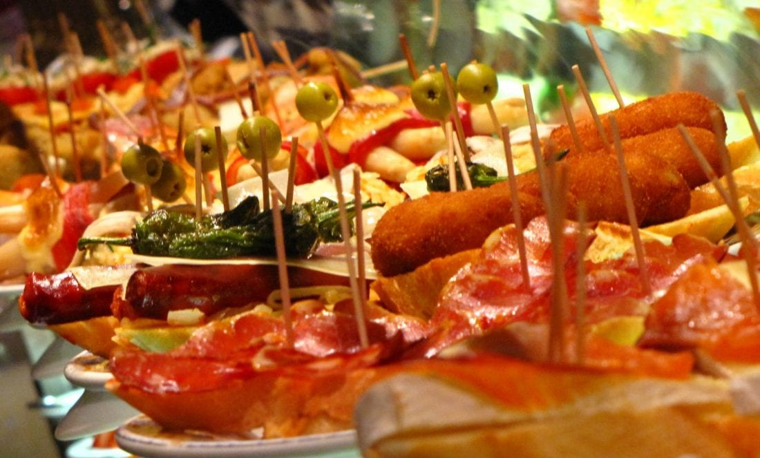 things to do in madrid - eat tapas!