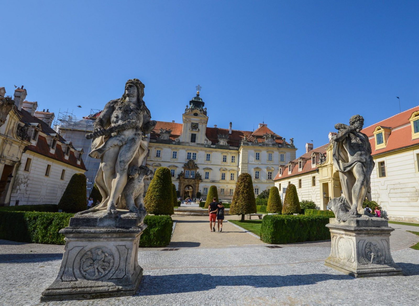 Valtice Palace in Moravia