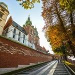 Krakow Wawel Castle Entrance