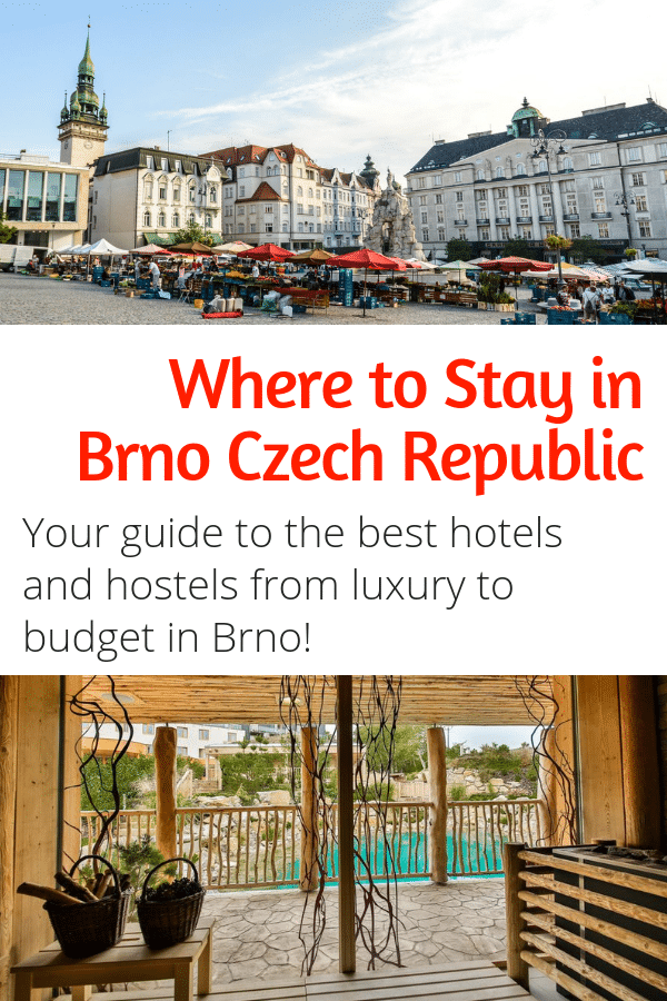 Where to Stay in Brno Czech Republic - Accommodations in the Czech Republic's second largest city for any budget! Luxury and budget hotels and hostels! #brno #czechrepublic #europe #budgettravel #hotels #hostels