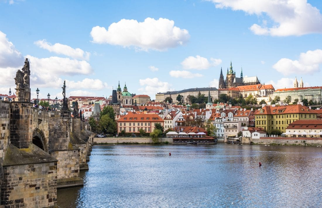 essential sites to visit in prague - charles bridge and prague castle