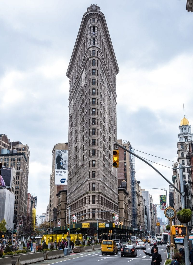 things to do in nyc for a first time visitor - flatiron building
