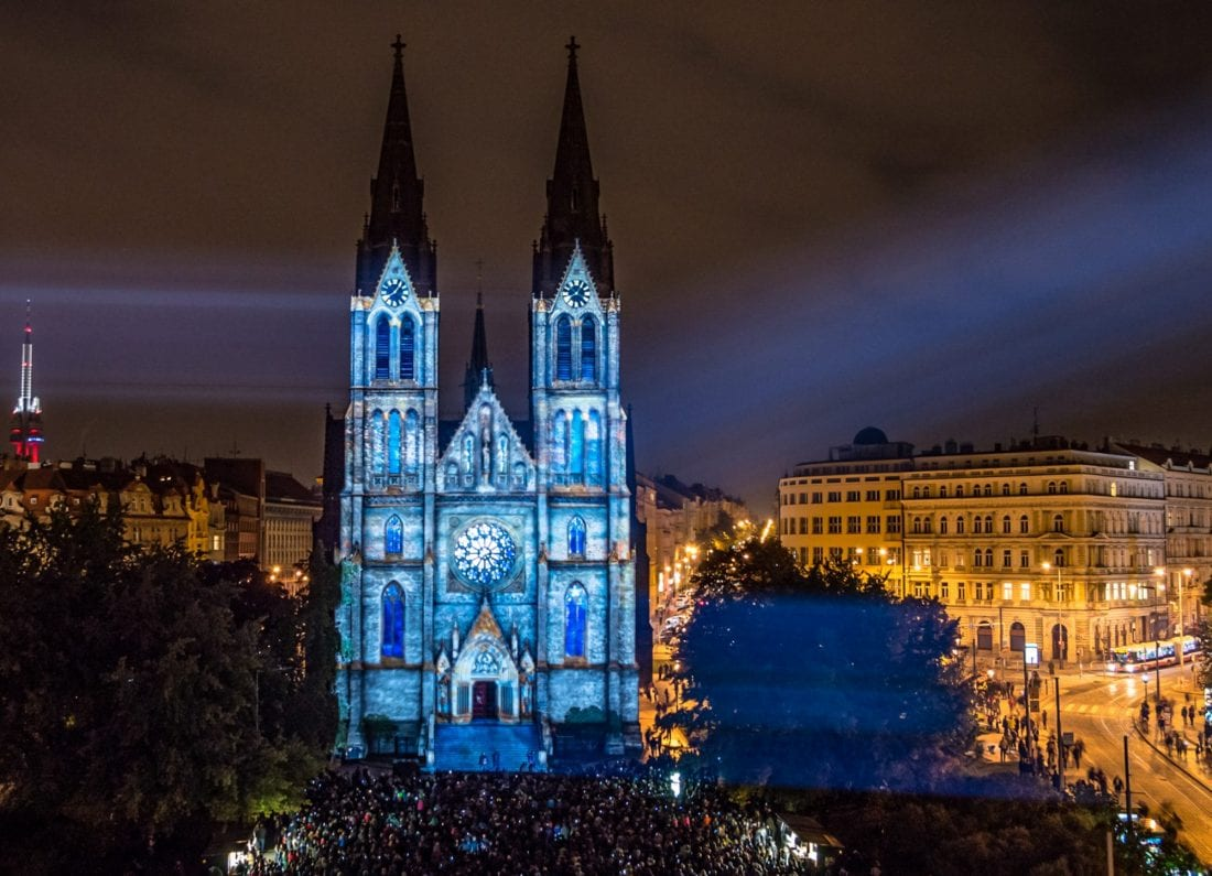places of interest in prague - namesti miru