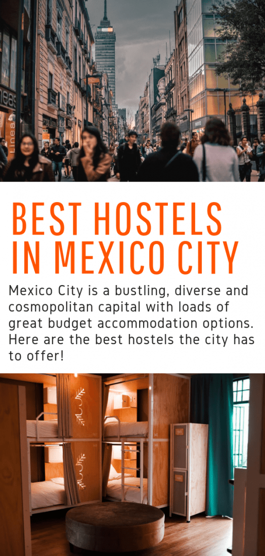Best Hostels in Mexico City - Budget travelers take note, here are the best budget hostels in Mexico City! Prepare to be surprised, these hostels are nothing short of superb! #budgettravel #mexicocity #mexico #travel #hostels