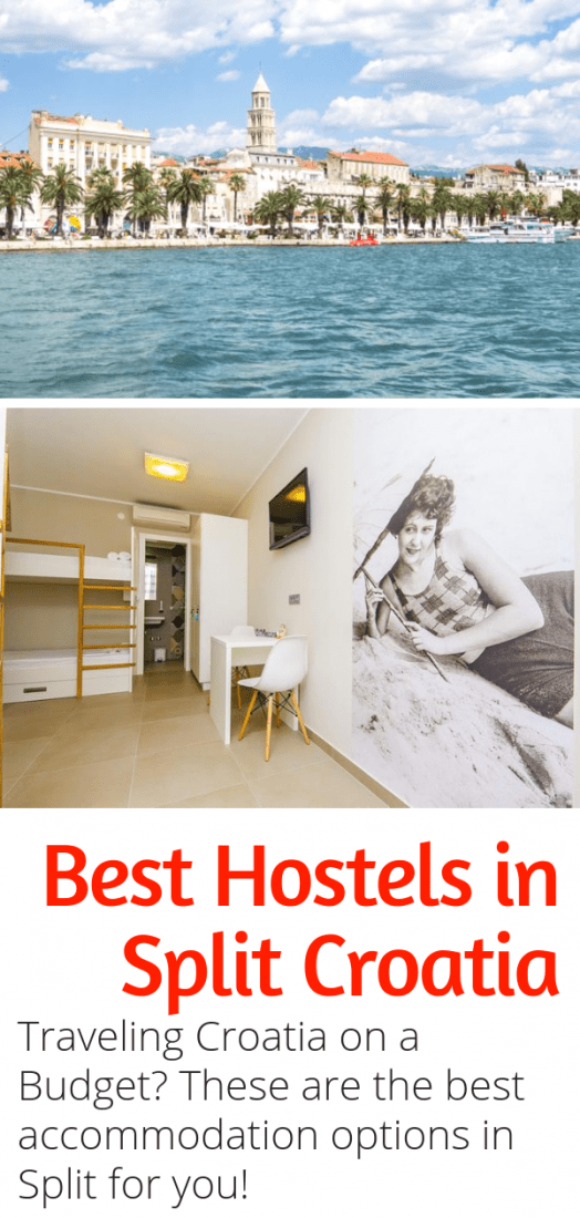 Looking for the Best Hostels in Split Croatia? This guide is for you! If you'd rather spend your money on things to do in Split, opt for one of these amazing budget hostels. #split #croatia #budgettravel #hostels #europe
