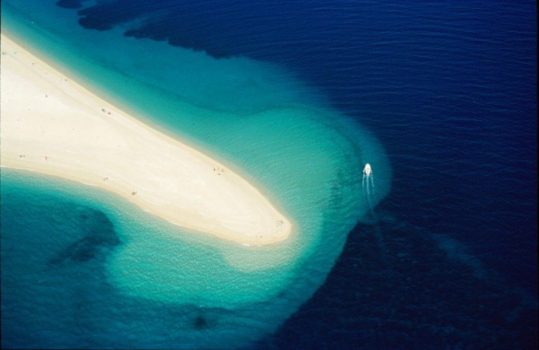 Golden Horn Beach in Bol Croatia