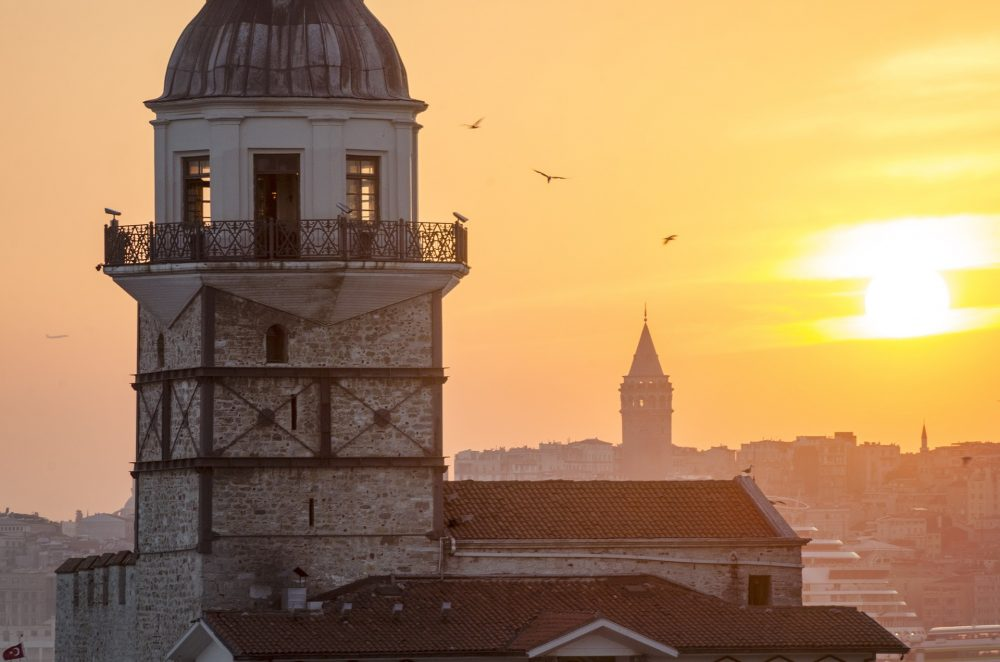 Leander's Tower in Istanbul