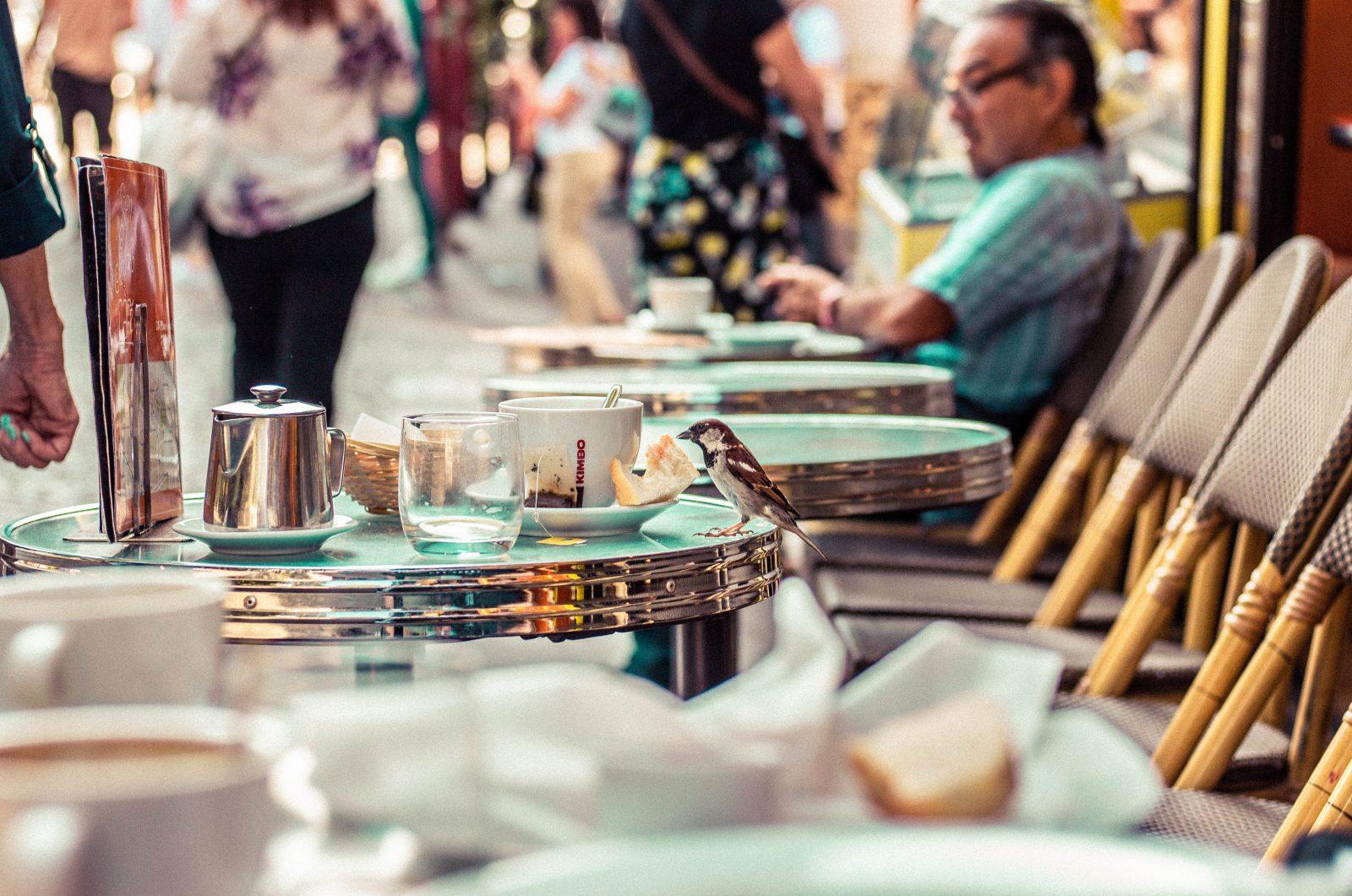 Paris Cafe Outdoor Seating
