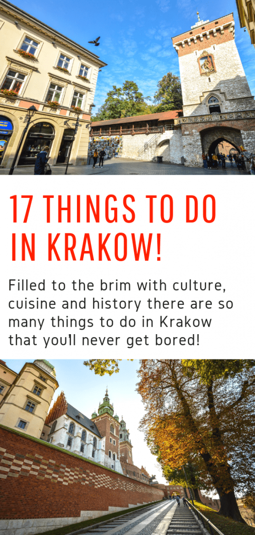 The Top Things to Do in Krakow - Filled to the brim with culture, cuisine and history you'll never get bored in Krakow. Here are the top things you should do when you visit! #krakow #poland #europe #travel