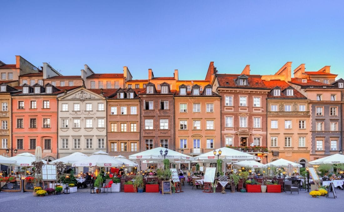 Warsaw - best places to visit in Poland