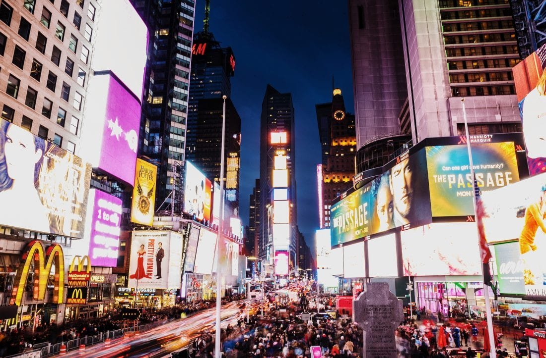 things to do in new york city - times square