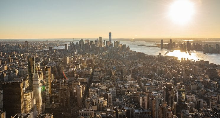 things to do in new york city for first time visitors - manhattan from above