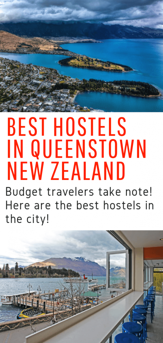 Looking for the best hostels in Queenstown New Zealand? Look no further! Our complete guide to the best hostels in Queenstown will help you pick the best budget accommodations and save you a few precious travel bucks. #queenstown #newzealand #travel #budgettravel #hostels #budget