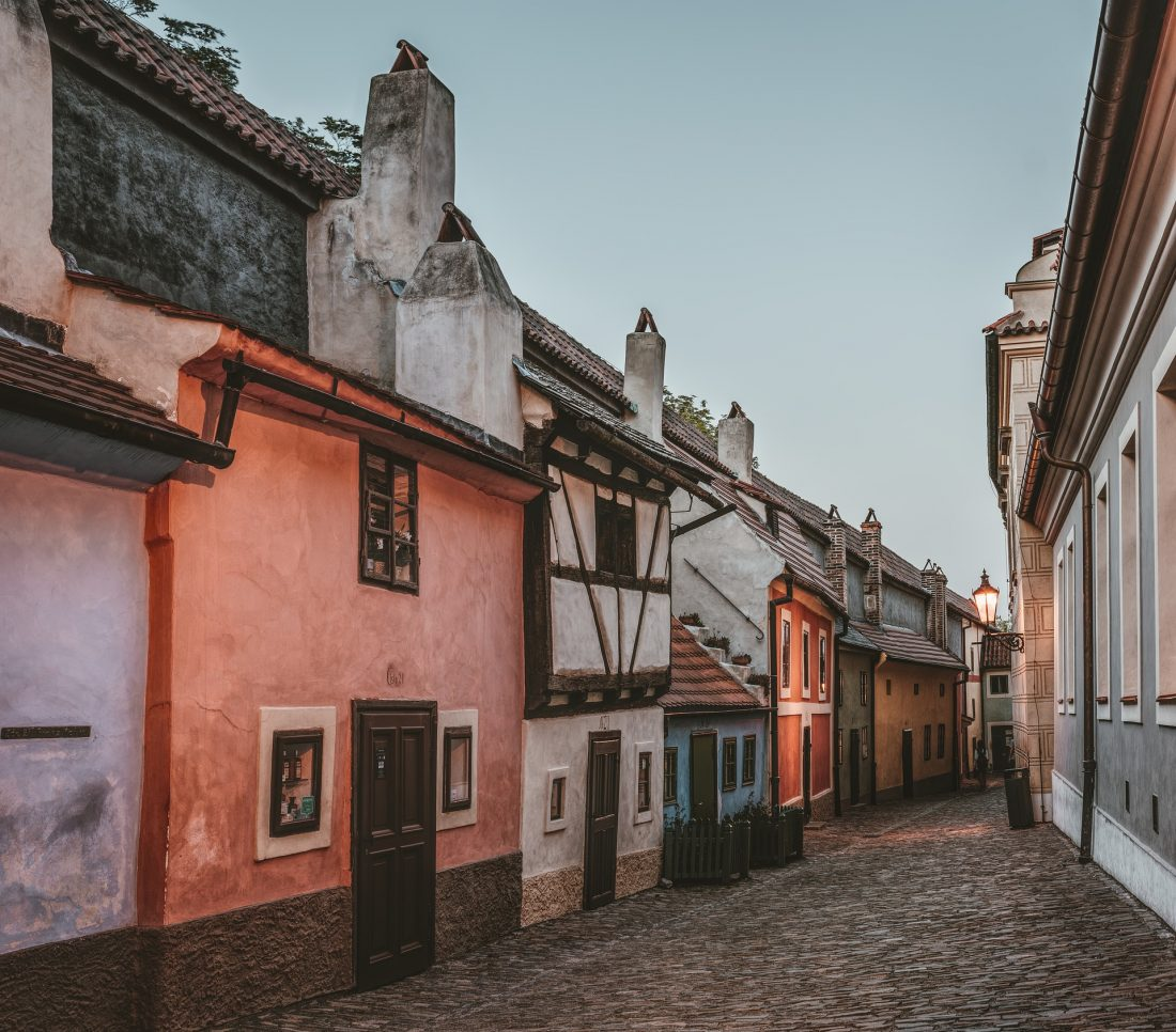 Prague's Golden Lane