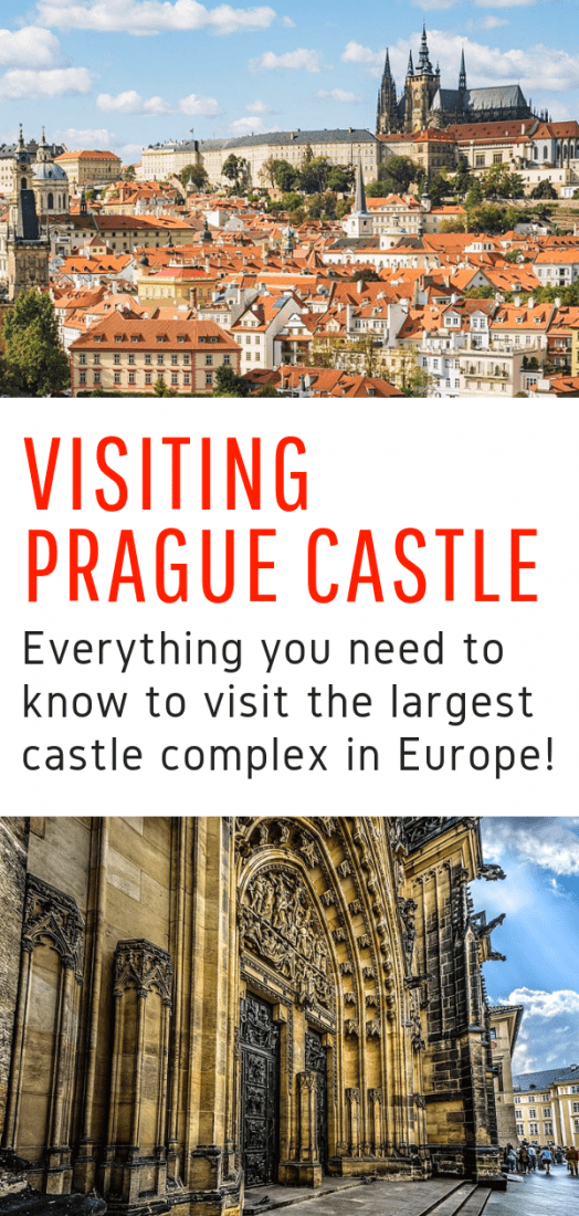 Visiting Prague Castle: A Complete Guide - Visiting Prague Castle is one the top things to do in Prague. Whether you do a Prague Castle tour or go on your own, here is everything you need to know about visiting Prague Castle! #prague #praguecastle #castle #czechrepublic #europe