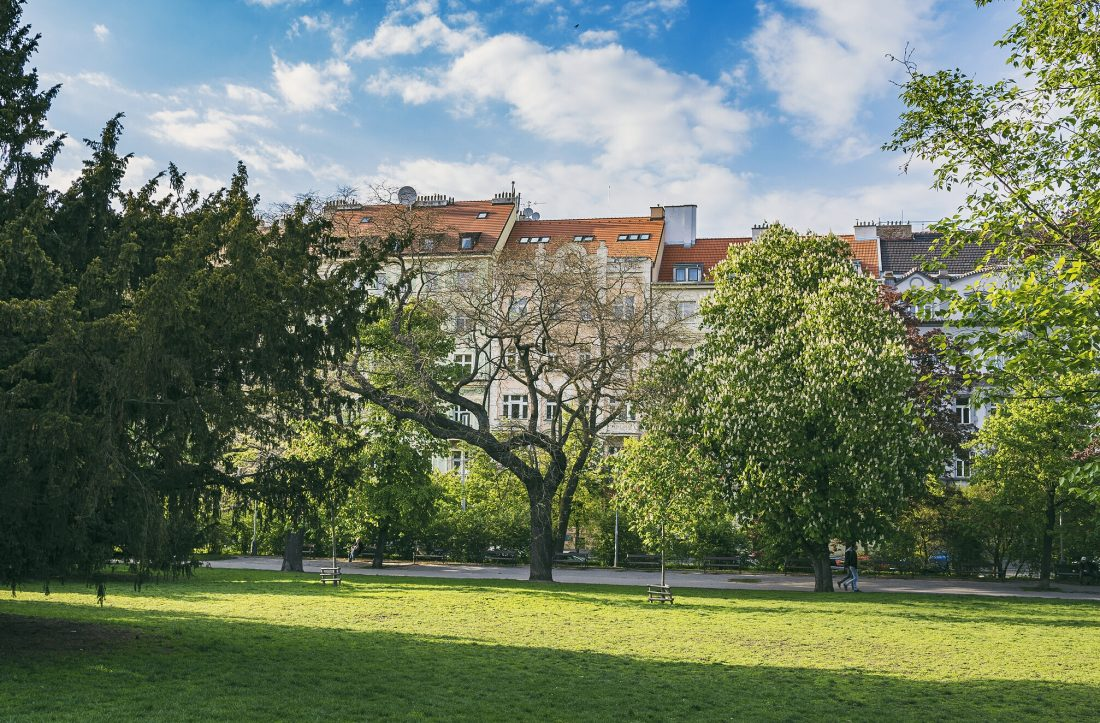 getting off the beaten path in Prague and exploring Prague's parks