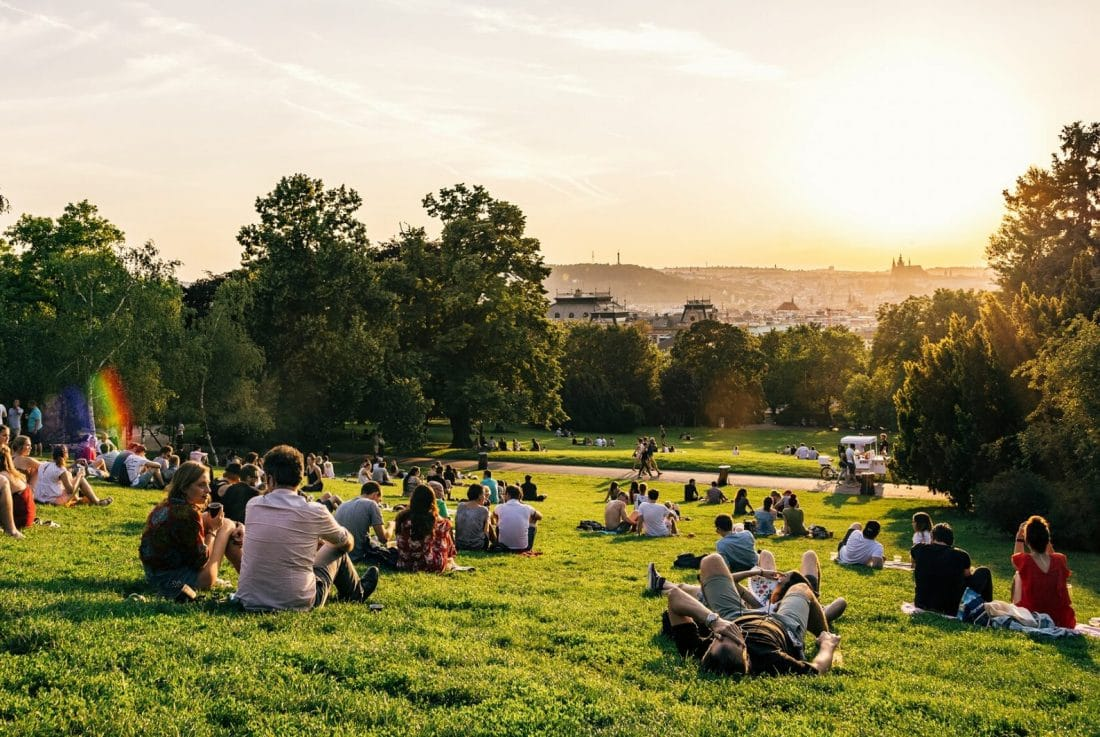 getting off the beaten path in prague, riegrovy sady