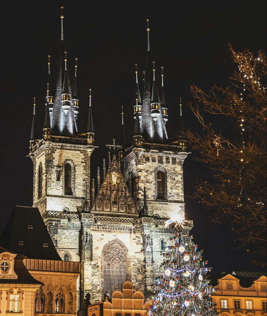 our lady before Tyn in Old Town Square, Prague