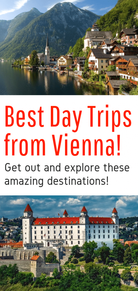 Best Day Trips from Vienna Austria - Looking for the best things to do around Vienna? Here are 7 awesome day trips from Vienna Austria! Click to explore! #vienna #austria #europe #europeantravel #travel #budapest #hungary #bratislava #slovakia #salzburg #prague