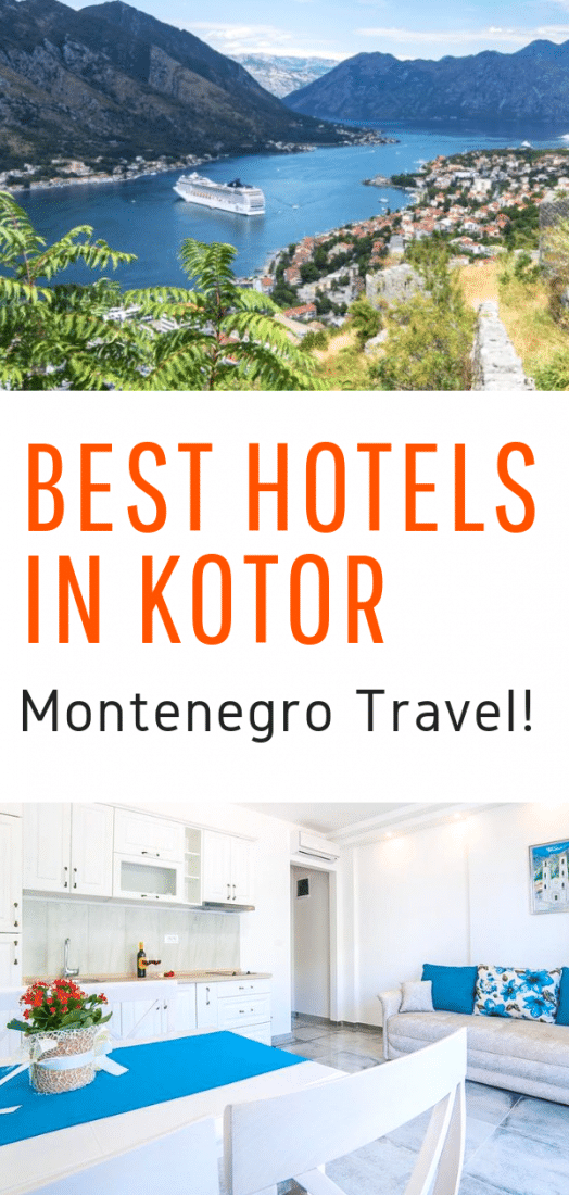 Best Hotels in Kotor Montenegro - Looking for an awesome hotel in Kotor Montenegro? This guide will help you find the perfect accommodation option no matter your budget! #kotor #montenegro #europeantravel #europe #travel #balkans #europetravel