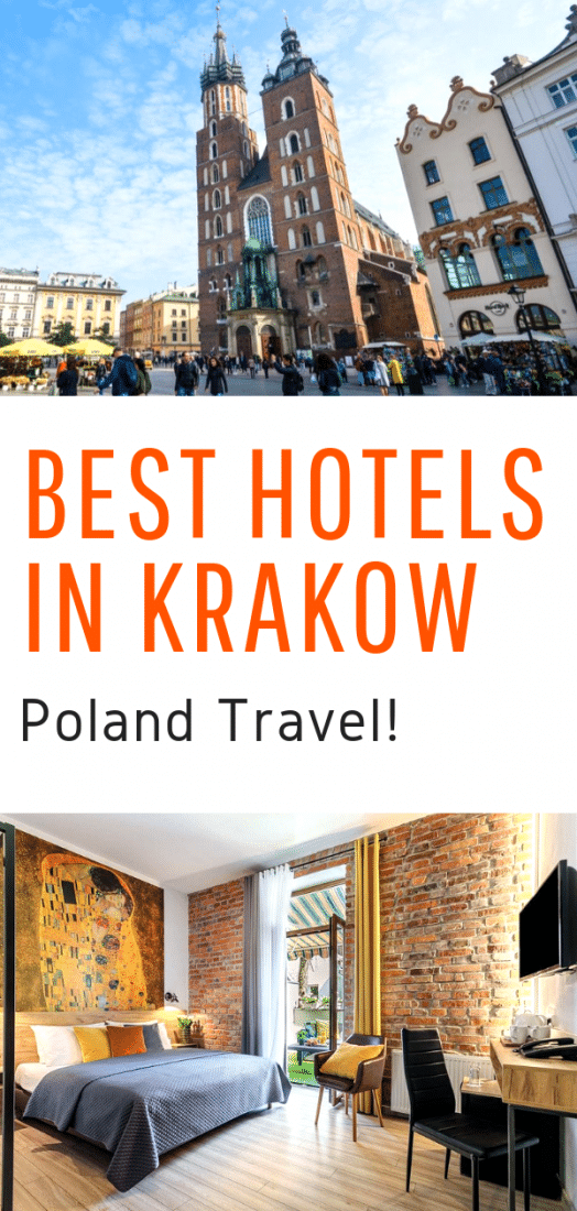 Best Hotels in Krakow Poland - A guide to the very best hotels in Krakow Poland for any budget! #krakow #poland #europe #europetravel #europeantravel #travel #hotels