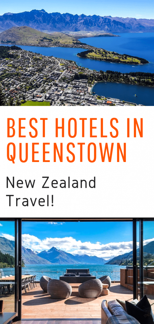 Best Hotels in Queenstown New Zealand - A guide to the very best luxury and boutique hostels in Queenstown New Zealand! #queenstown #newzealand #travel #hotels