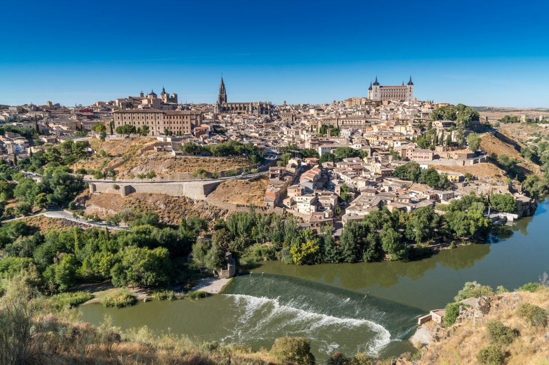 the beat day trips from madrid - toledo