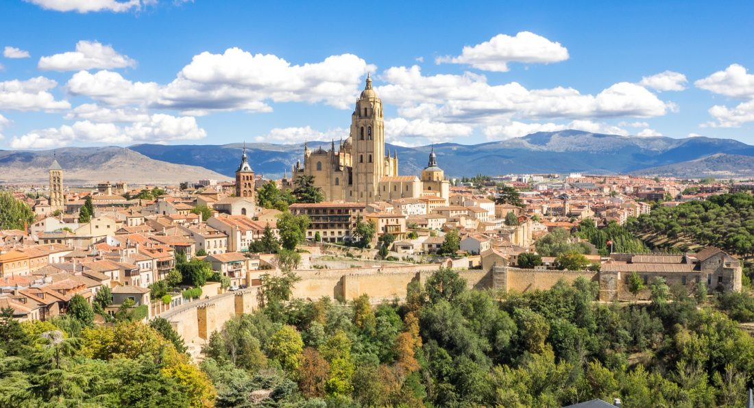 bet day trips from Madrid - Segovia