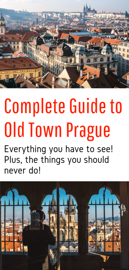 Complete Guide to Old Town Prague - All the best things to do in Prague's Old Town. Plus the things you should NEVER do! Click to read this guide written by locals about Old Town Prague Czech Republic! #prague #czechrepublic #oldtown #europe #europeantravel #travel