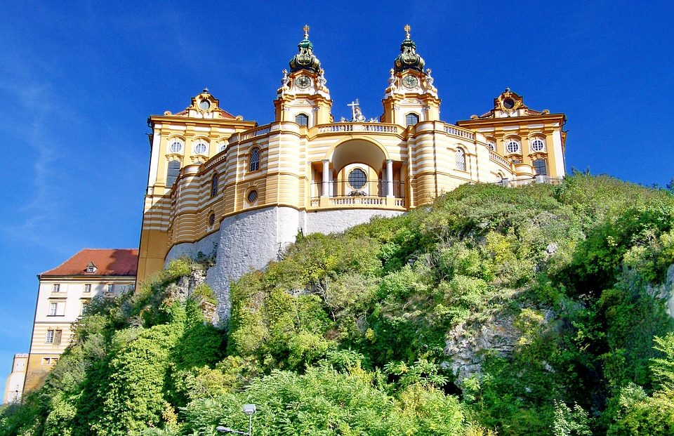 day trips from vienna - melk abbey