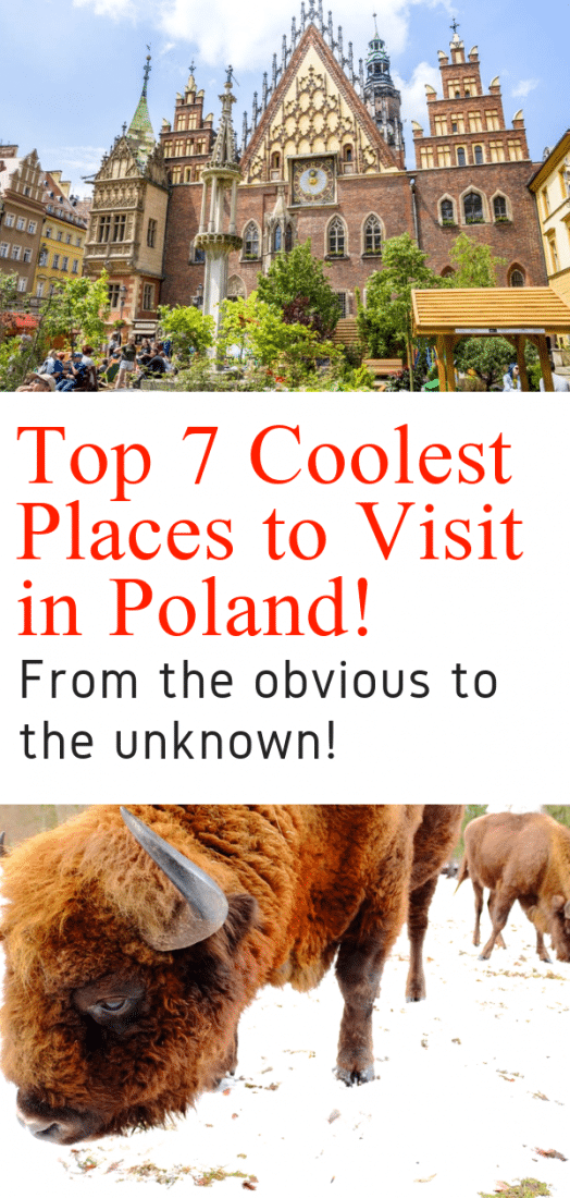 Poland Travel - Want to know what the best places to visit in Poland are? This guide by a local is for you! Krakow, Warsaw, Wroclaw, and a few places only known to Poles! Click to discover Poland! #poland #krakow #warsaw #wroclaw #gdansk #europeantravel #travel #europe