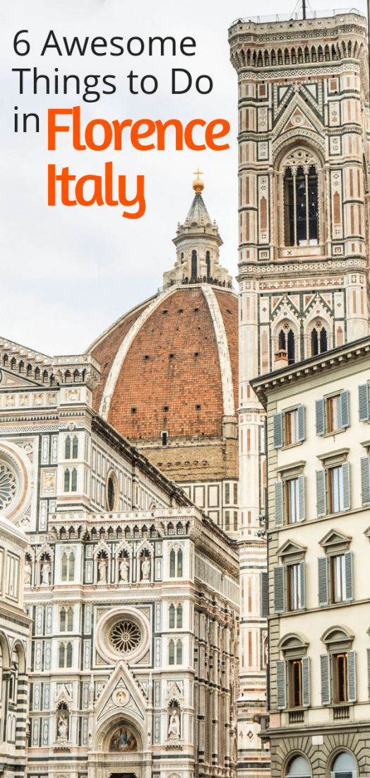 6 Awesome Things to Do in Florence Italy - Looking for the best things to do in Florence Italy? Look no further. Click for the top sites in Florence! #florence #italy #travel #europe #europeantravel #traveltips