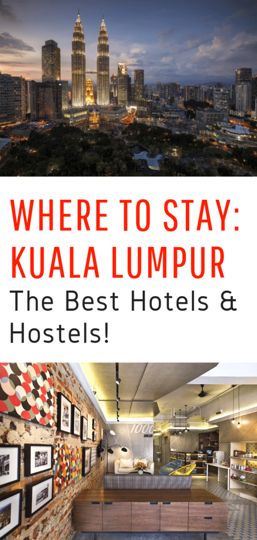 Where to Stay in Kuala Lumpur - A guide to the very best hostels and hotels in Kuala Lumpur! #kualalumpur #travel #Malaysia #asia #asiatravel