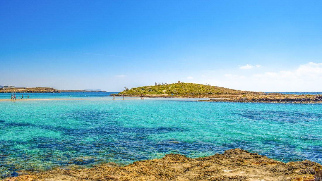 the best beaches in Europe - nissi beach cyprus