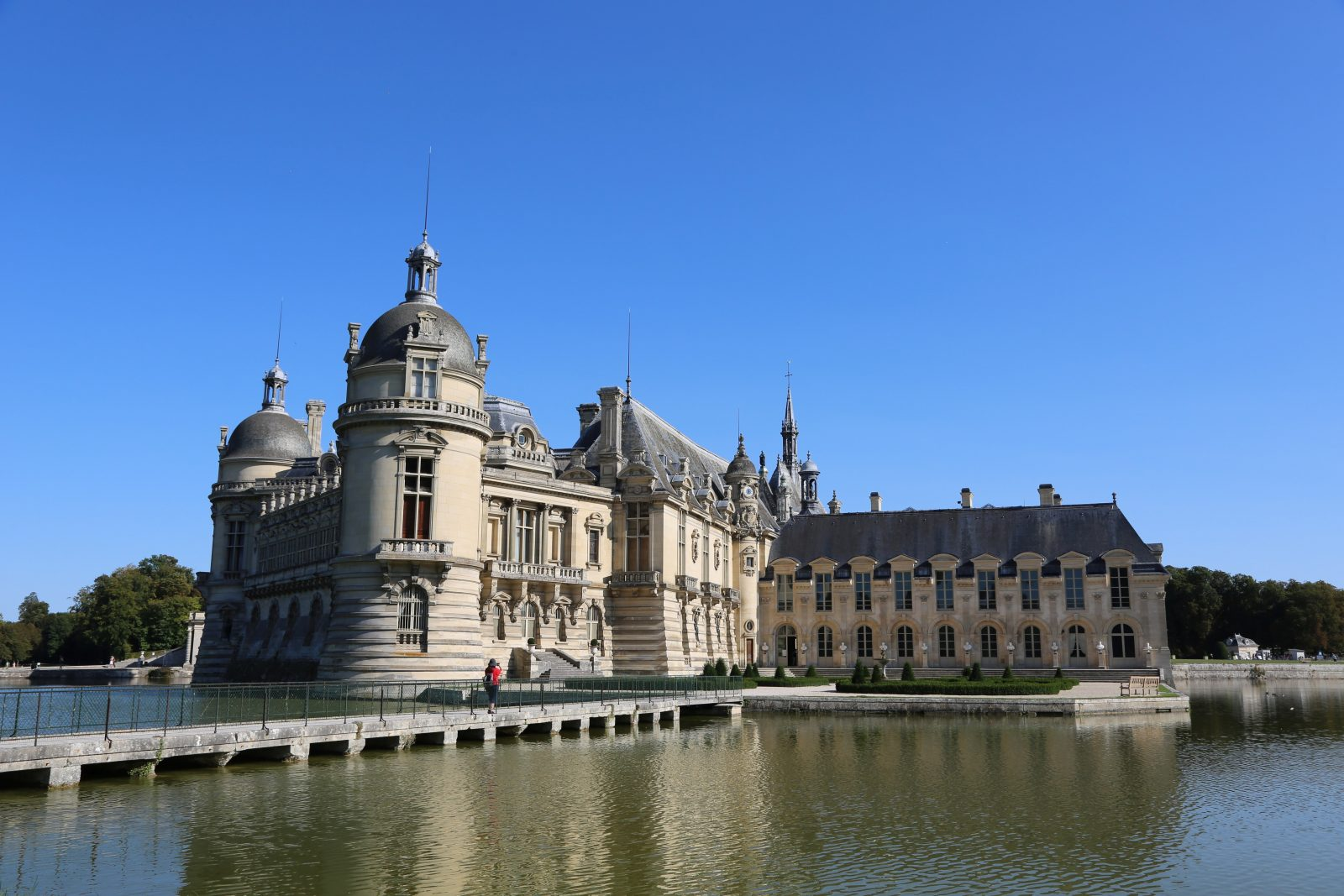 Chateau Chantilly in Chantilly France