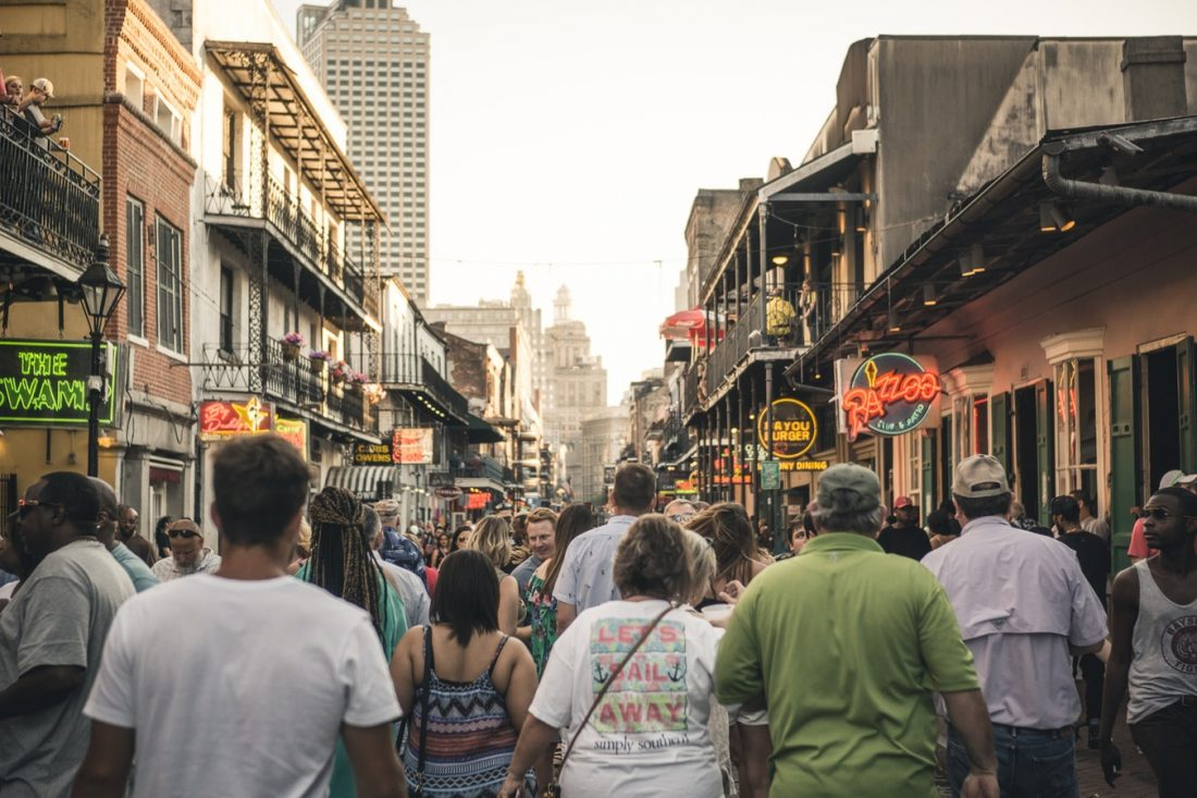 bourbon street - things to do and to see in new orleans