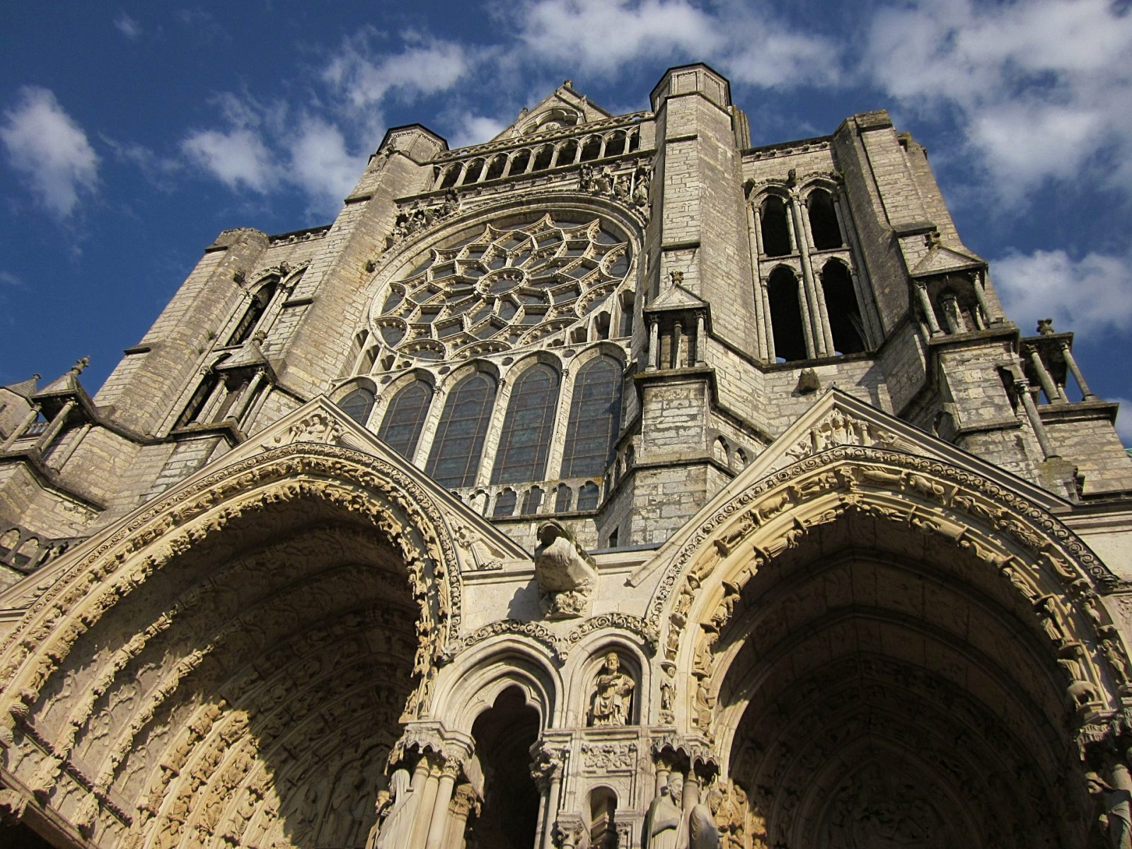 Chartres Cathedral in Chartres France