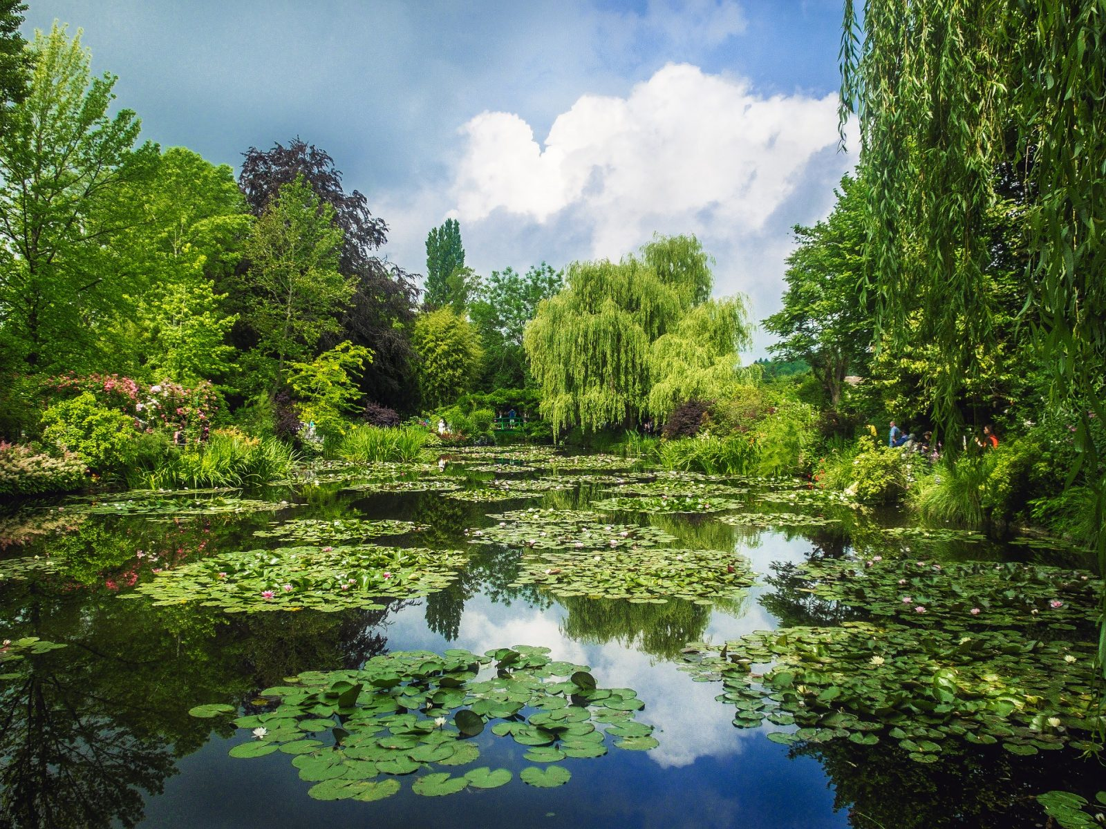 Giverny Gardens Monet Near Paris