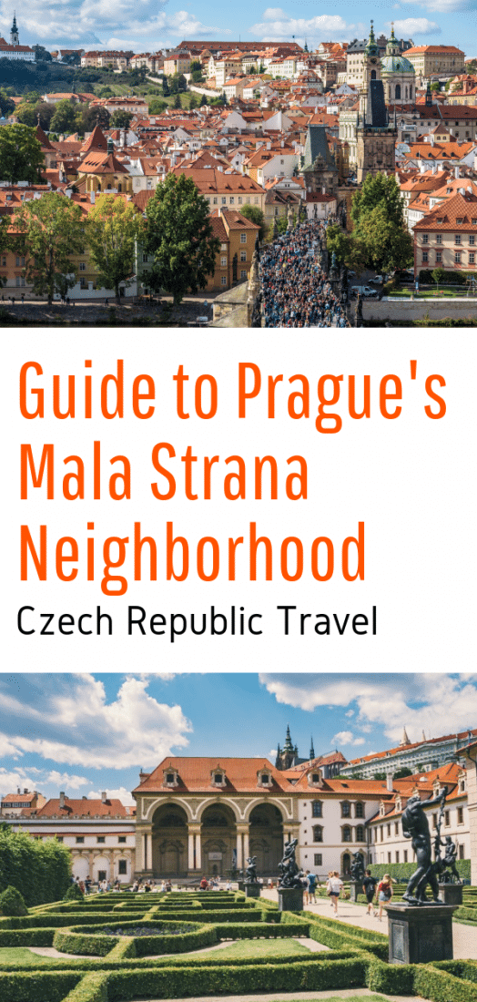 Guide to Prague's Mala Strana Neighborhood - All the amazing things to do in Prague's Mala Strana neighborhood including Prague Castle, Charles Bridge, and more! #prague #czechrepublic #europe #praguecastle #charlesbridge #europeantravel #europetravel #travel