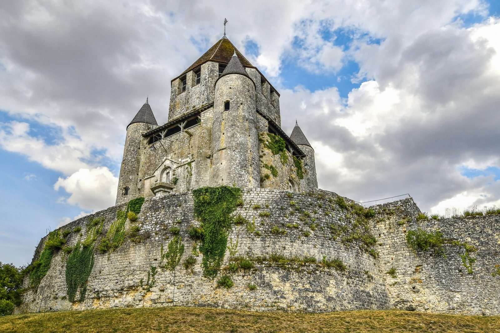 Provins Tower Fortress Castle in France