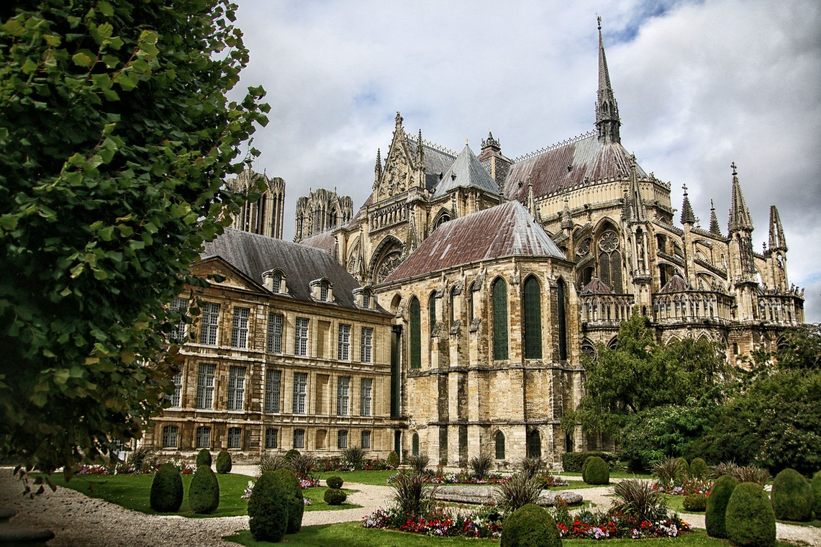 Reims Notre Dame Cathedral in France