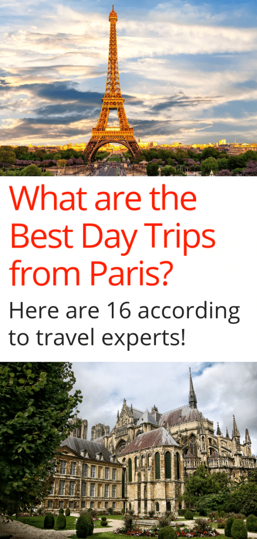 Paris Travel - Looking for the best day trips from Paris? Spending some time in the city of lights and want to see more of France? Here are 16 of the best day trips according to the experts. There are even a few cheeky trips outside of France on the list! #paris #daytrips #france #europe #europeantravel #europetravel #travel