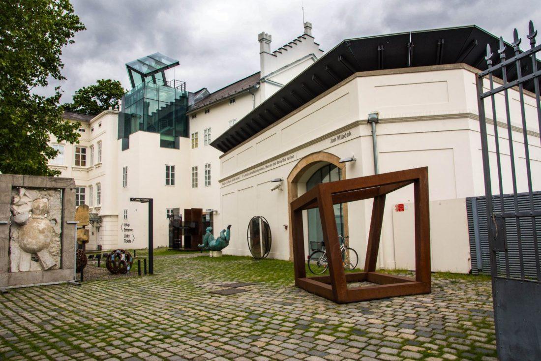 kampa museum prague czech republic